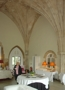 original carriageway of gatehouse is now an elegant dining room